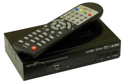 Спутниковый HDTV ресивер Orto 770G