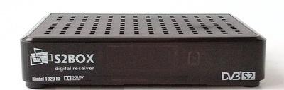 Спутниковый HDTV ресивер BOX S2BOX-102D-RF