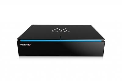 Спутниковый HDTV ресивер Amiko A4 Combo 4K