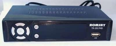 Цифровой эфирный DVB-T2 ресивер Romsat TR-2017HD