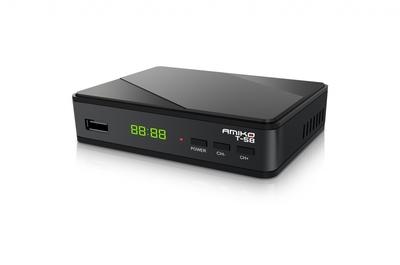 Цифровой эфирный DVB-T2 ресивер Amiko T58