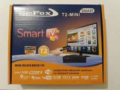 Цифровой эфирный DVB-T2 ресивер OpenFox T2 mini SMART