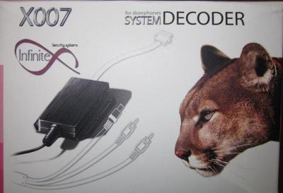 Четырех канальный декодер Infinitex Х007