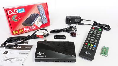 Спутниковый HDTV ресивер U2C uClan B6 CA Full HD
