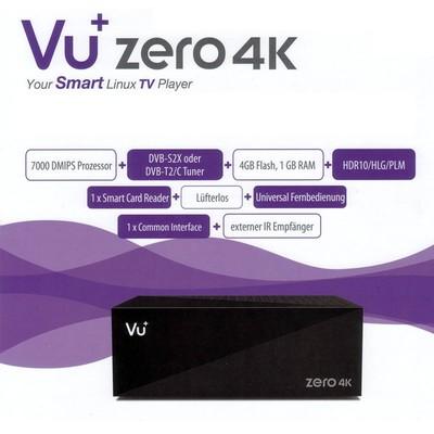 Спутниковый UHDTV ресивер VU + ZERO 4K