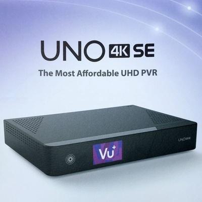 Спутниковый UHDTV ресивер VU + UNO 4K SE