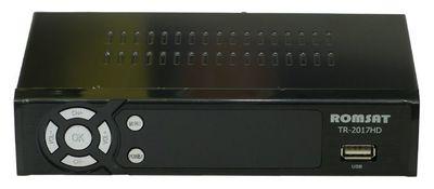 Цифровой эфирный DVB-T2 ресивер Romsat TR-2017