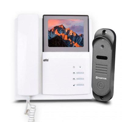 Видеодомофон + вызывная панель Atis AD-401-kit