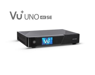 Спутниковый UHDTV ресивер VU + UNO 4K SE 1X DUAL FBC-S/S2/S2X