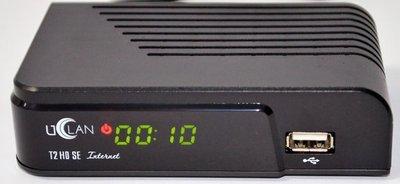 Цифровой эфирный DVB-T2 ресивер U2C (Uclan) T2 SE Internet