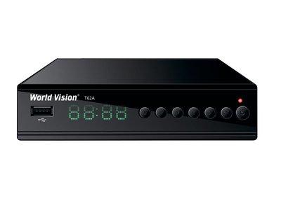 Цифровой эфирный DVB-T2 и кабельный ресивер World Vision T62A
