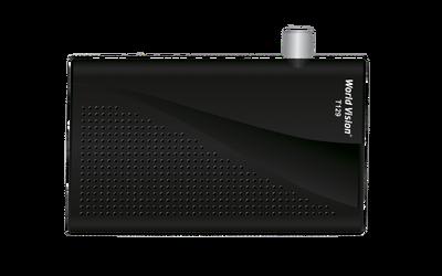 Цифровой эфирный DVB-T2 ресивер World Vision T129
