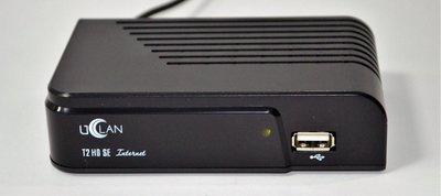 Цифровой эфирный DVB-T2 ресивер U2C (Uclan) T2 SE Internet БЕЗ ДИСПЛЕЯ