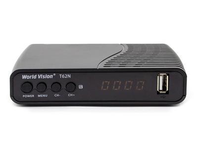 Цифровой эфирный DVB-T2 ресивер World Vision T62N