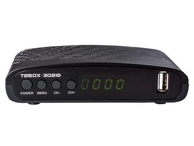 Цифровой эфирный DVB-T2 ресивер BOX T2 - 302iD