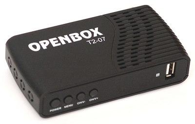 Цифровой эфирный DVB-T2 и кабельный ресивер Openbox T2-07
