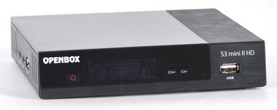 Спутниковый HDTV ресивер Openbox S3 Mini II