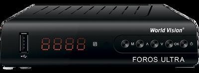 Спутниковый HDTV ресивер World Vision Foros Ultra