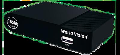 Цифровой эфирный DVB-T2 ресивер World Vision T65M