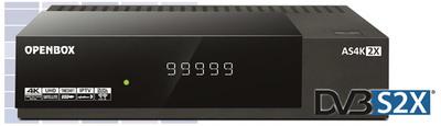 Спутниковый UHDTV ресивер Openbox AS4K 2X