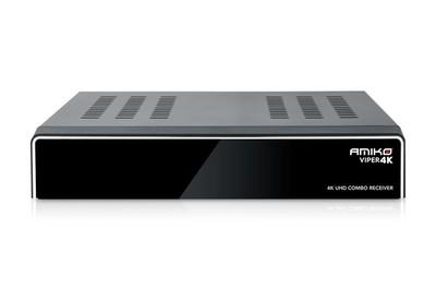 Спутниковый комбинированный UHDTV ресивер Amiko VIPER 4K COMBO