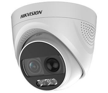 Turbo HD видеокамера с PIR датчиком и сиреной Hikvision DS-2CE72DFT-PIRXOF (3.6 ММ)