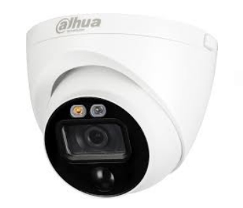 HDCVI видеокамера активного реагирования Dahua DH-HAC-ME1200EP-LED 2.8MM