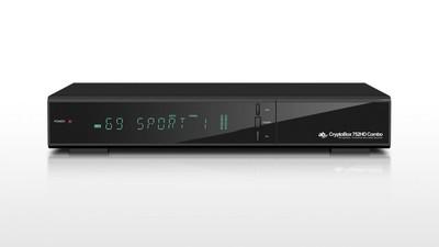 Спутниковый HDTV ресивер CryptoBox 752 HD combo