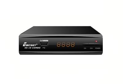 Комбинированный HDTV ресивер EuroSky ES-19 Combo