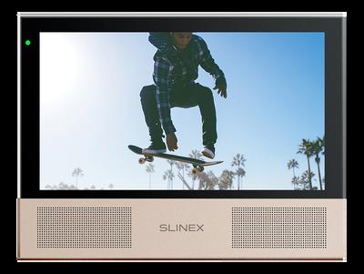 Видеодомофон с двумя динамиками и сменными панелями Slinex Sonik 7