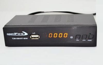 Цифровой эфирный DVB-T2 ресивер OpenFox T2 mini SMART METAL