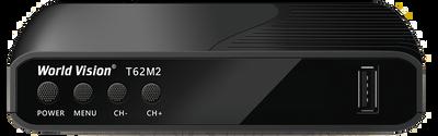 Цифровой эфирный DVB-T2 ресивер World Vision T62M2