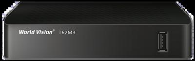 Цифровой эфирный DVB-T2 ресивер World Vision T62M3