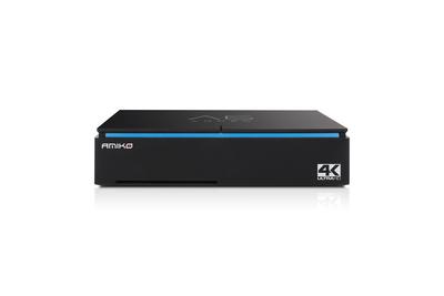 Комбинированный  UHDTV ресивер Amiko A6 Combo