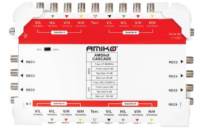 Мультисвич Amiko AMS 9 x 8
