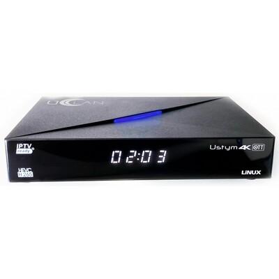 IPTV приставка U2C (Uclan) Ustym 4K OTT